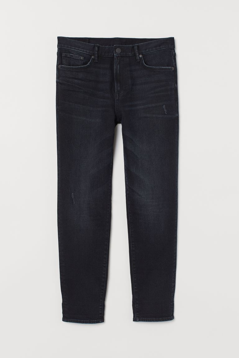 Tapered Jeans - Dunkelblau - Men | H&M AT