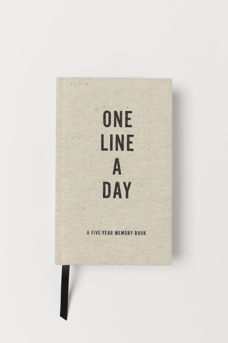 One Line a Day - Beige - Home All | H&M DK