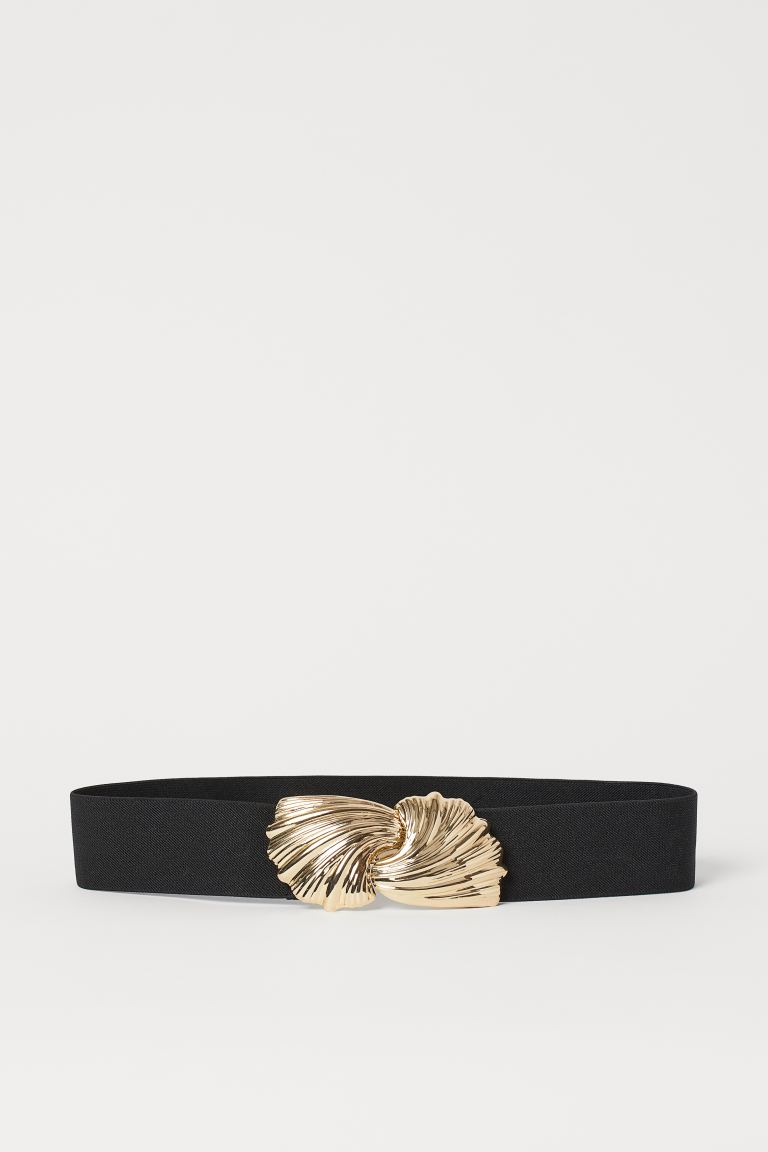Metal-buckle Waist Belt - Black - Ladies | H&M US