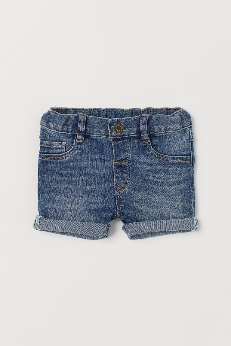 Shorts in denim - Blu - BAMBINO | H&M IT