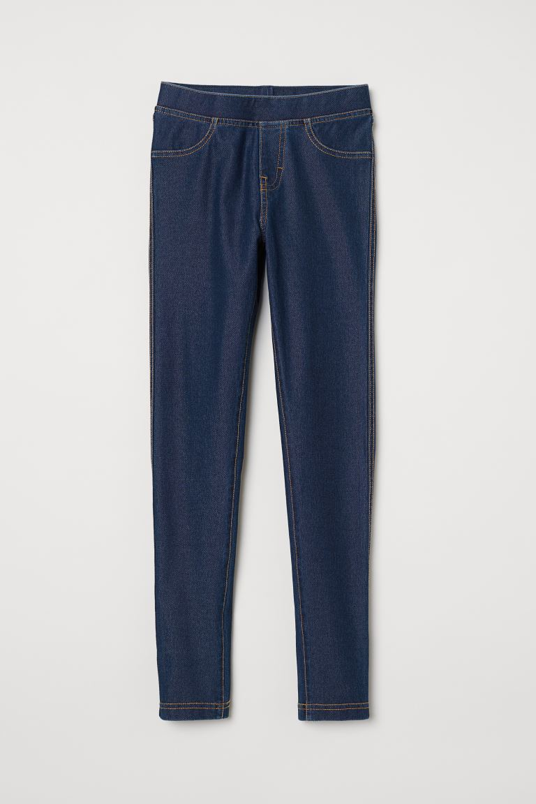 Treggings - Blu denim scuro -  | H&M IT