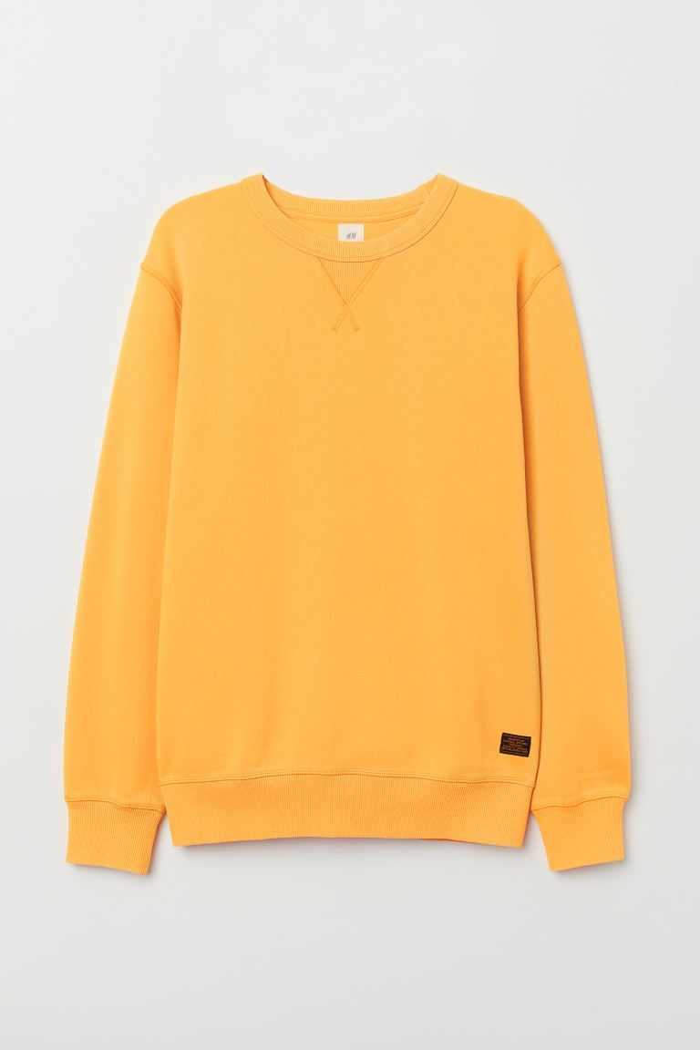 Sudadera Relaxed fit - Amarillo -  | H&M US