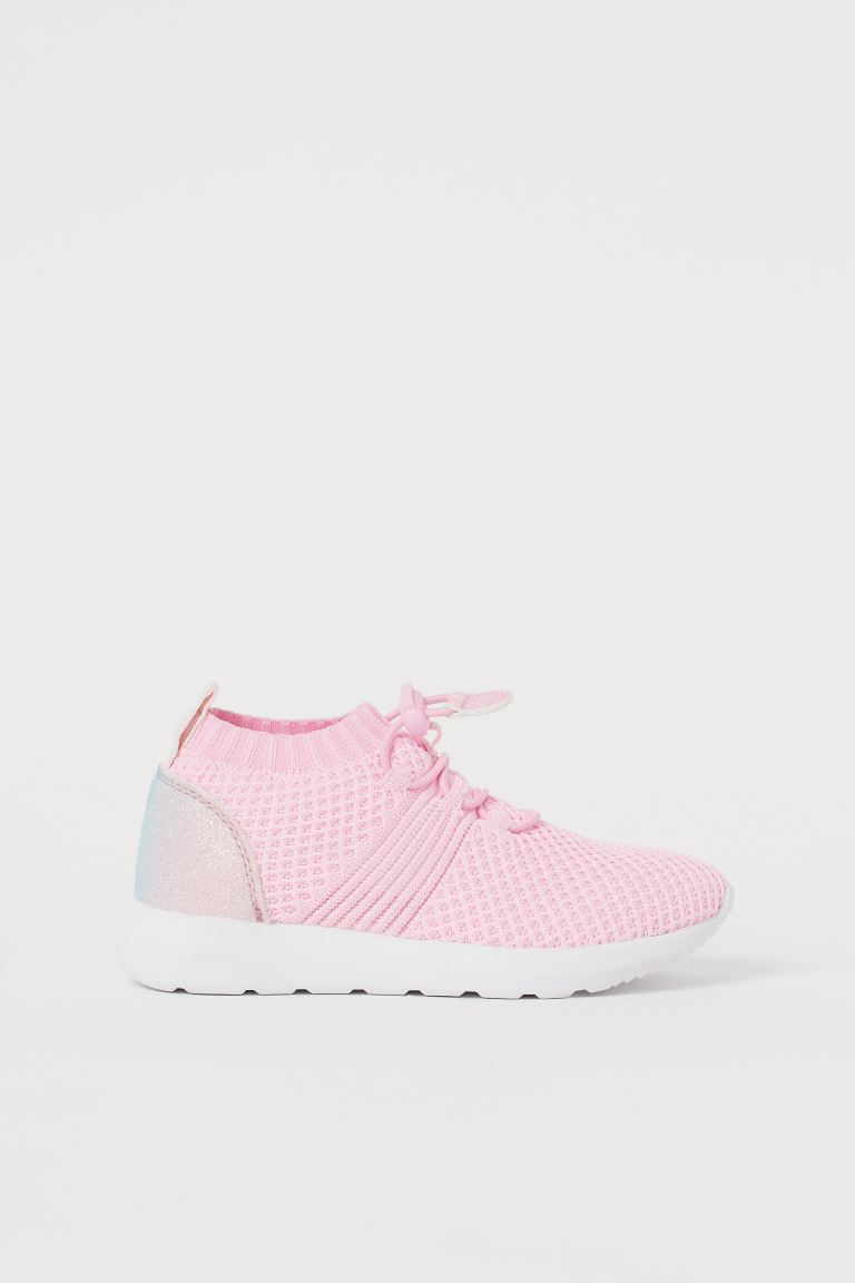 Fully-fashioned trainers - Light pink - Kids | H&M