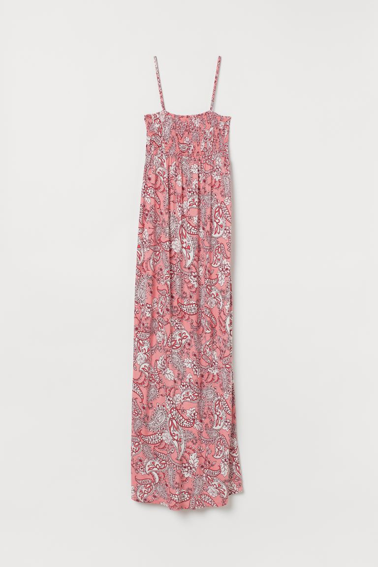 MAMA Jersey Dress - Pink/paisley-patterned - Ladies | H&M US