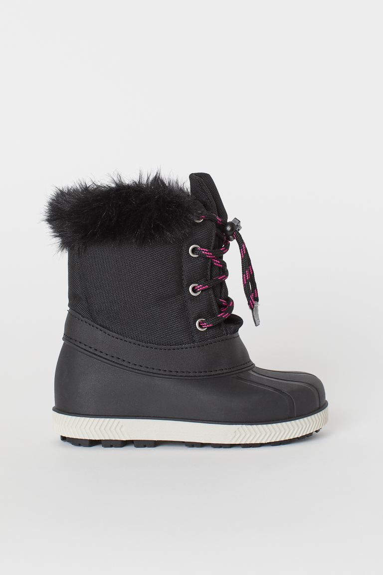 Boots with waterproof feet - Black -  | H&M GB