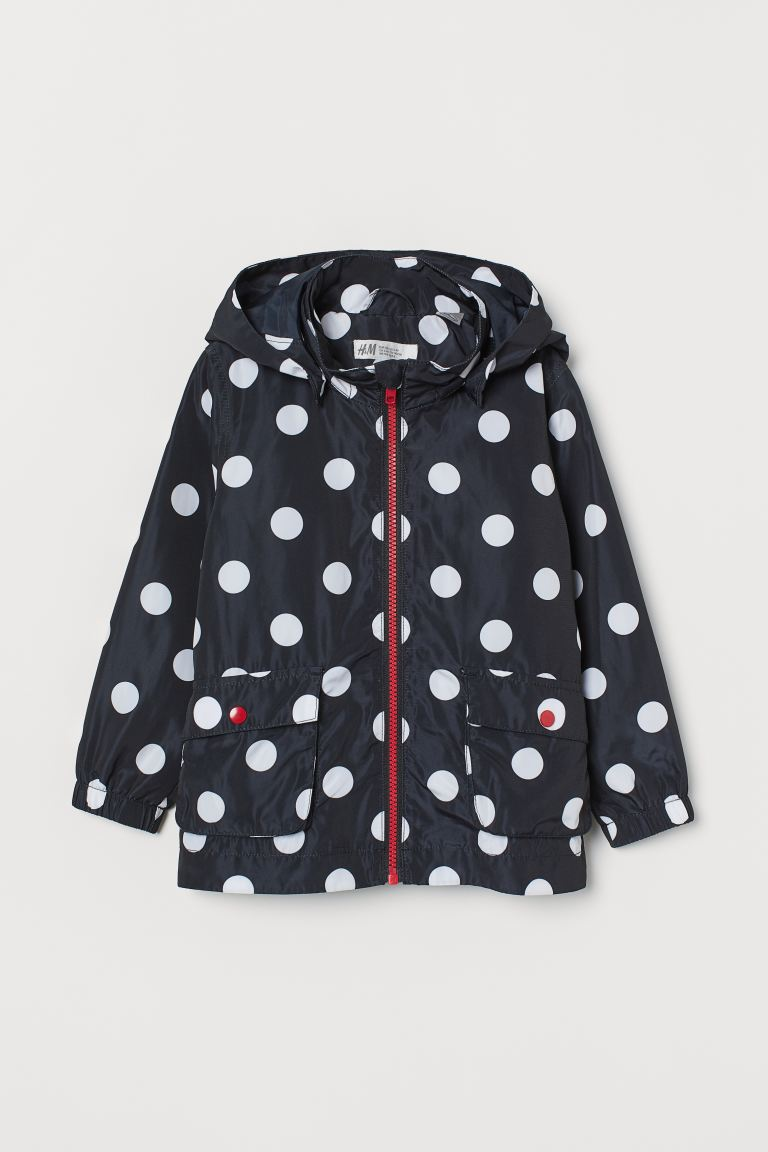 Hooded jacket - Black/Minnie Mouse - Kids | H&M GB