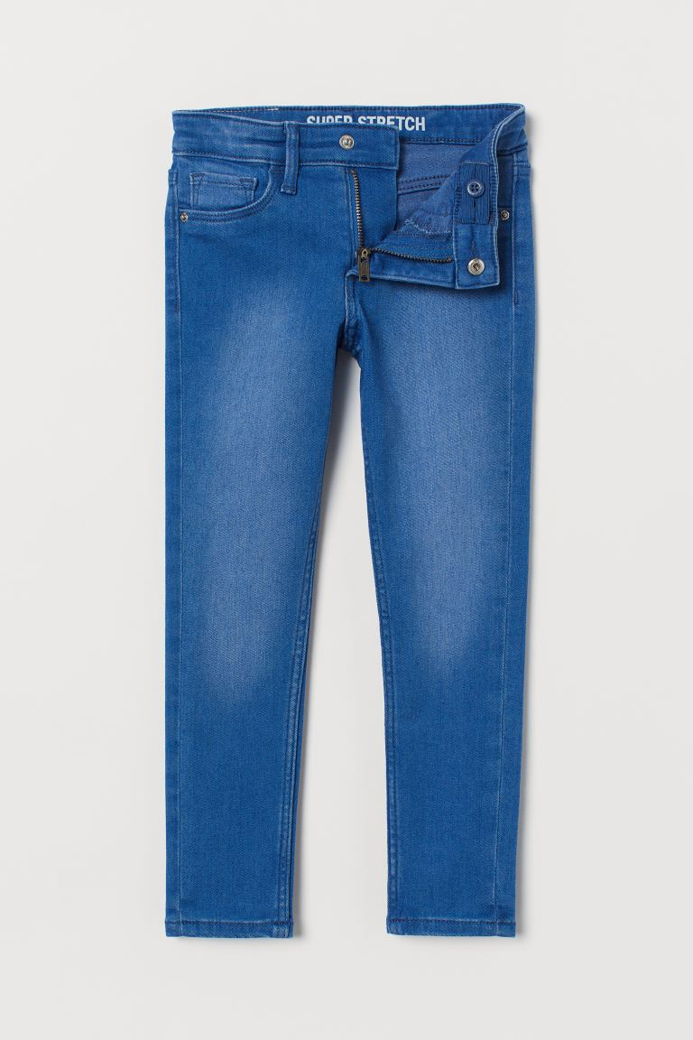 Superstretch Skinny Fit Jeans - Blå - BARN | H&M NO