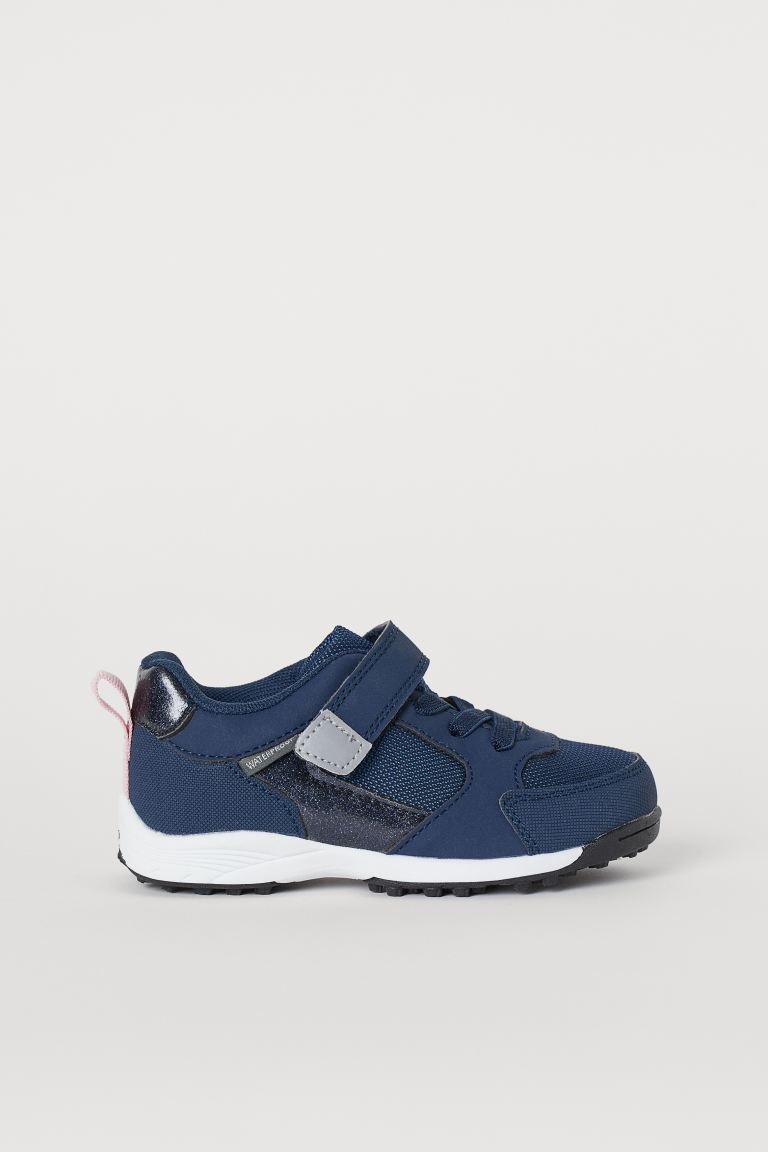 Waterproof trainers - Dark blue -  | H&M