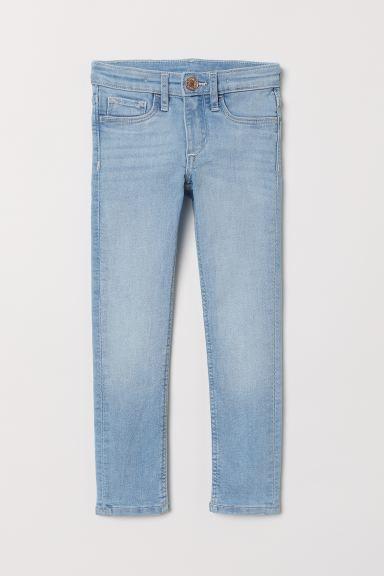 Superstretch Skinny Fit Jeans - Light denim blue - Kids | H&M GB