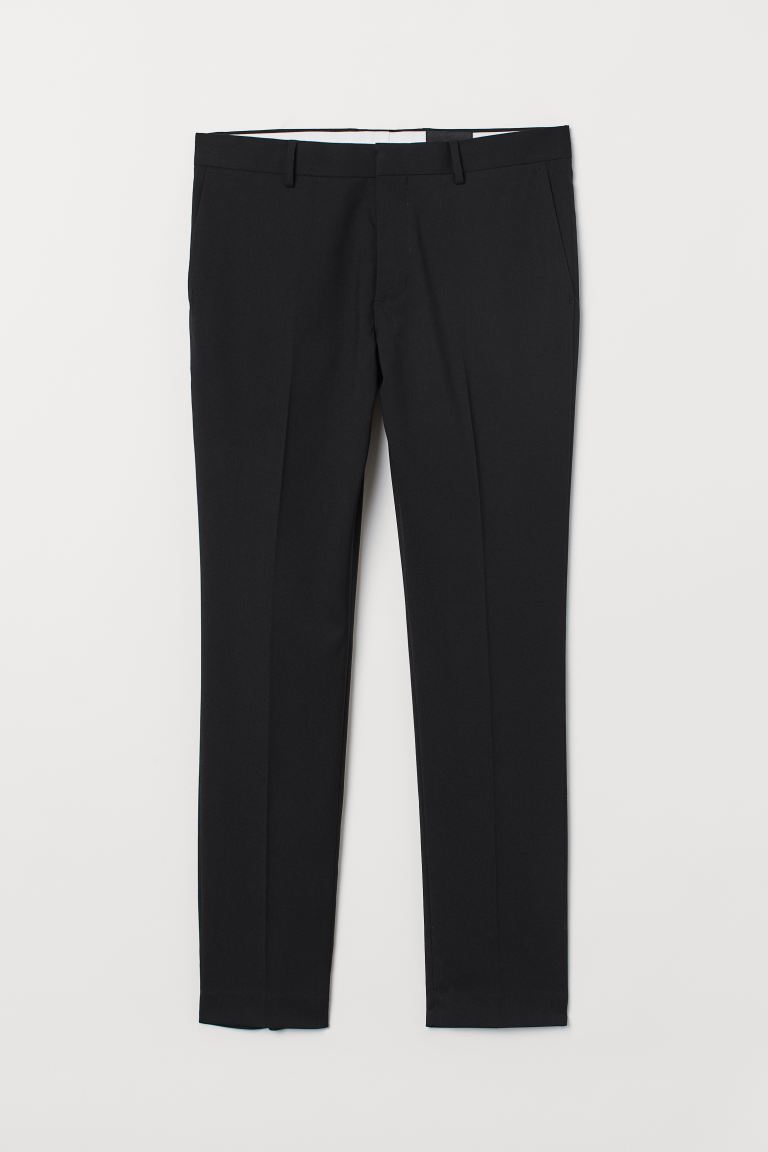 Pantalon Super Skinny Fit - Noir - HOMME | H&M BE