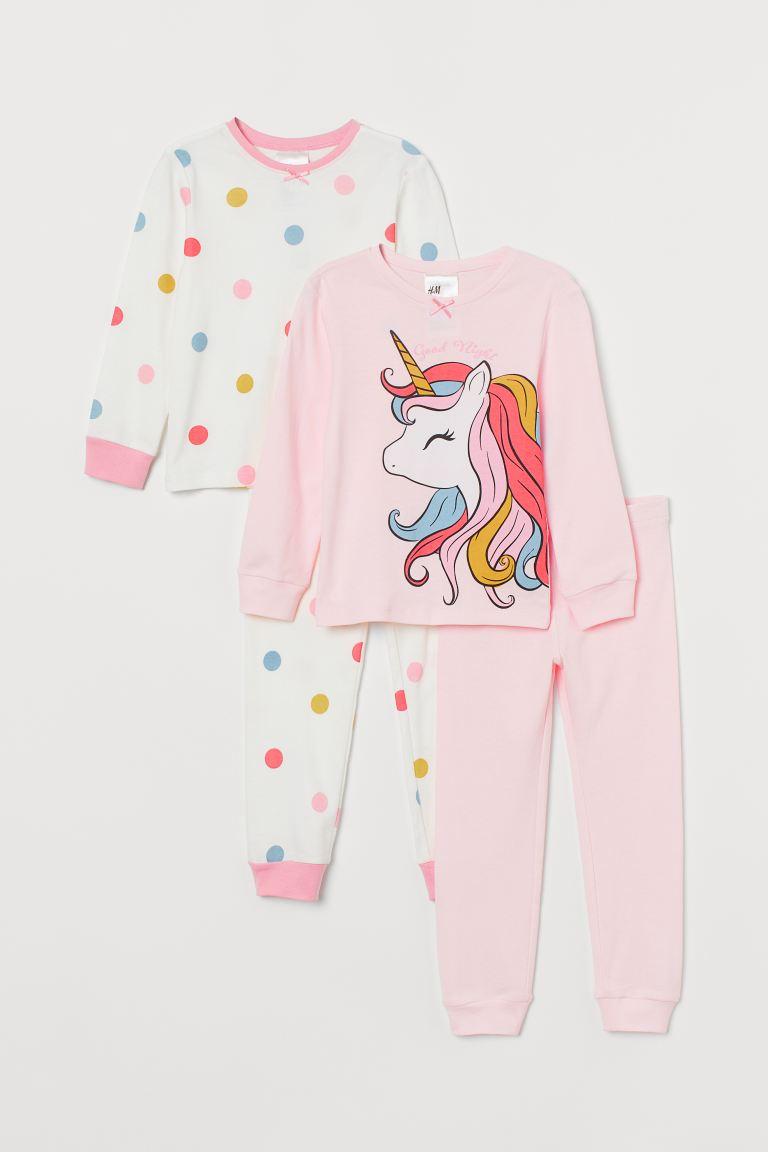 2-pack jersey pyjamas