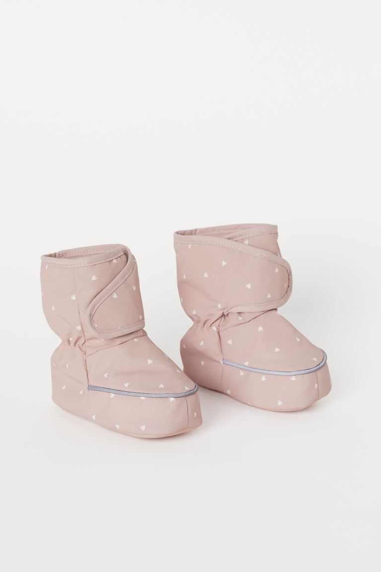 Waterproof Soft Boots - Light pink/hearts - Kids | H&M CA