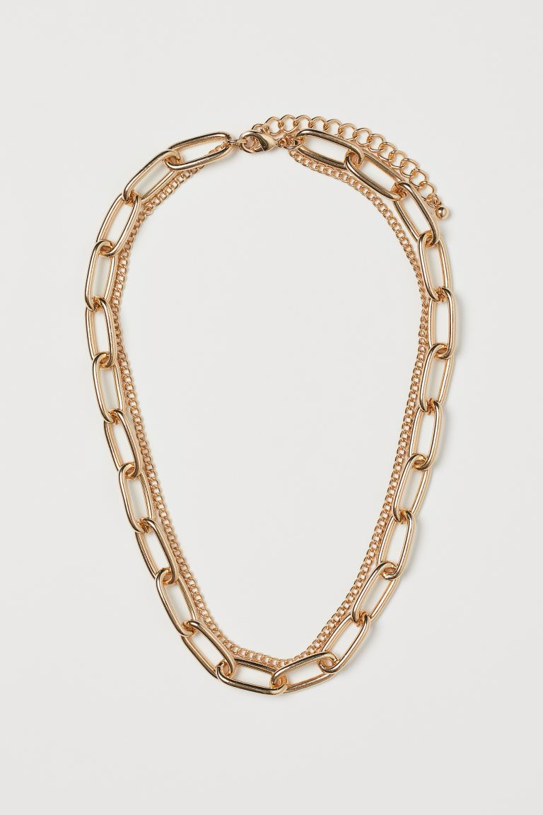 Short Necklace - Gold-colored - Ladies | H&M US