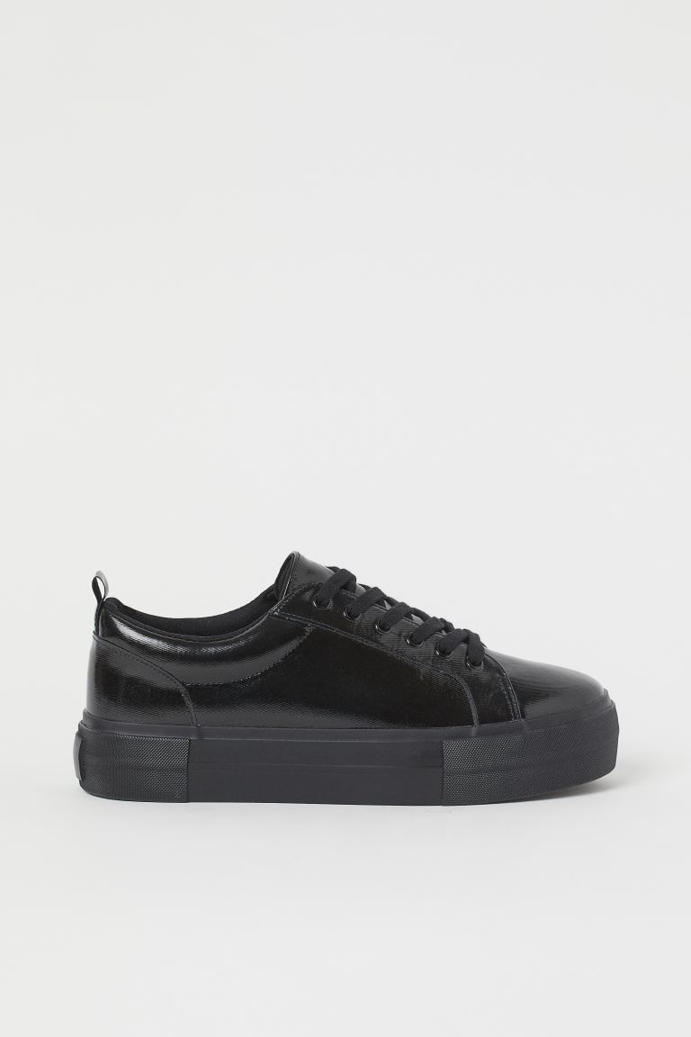 Platform Sneakers - Black - Ladies | H&M CA
