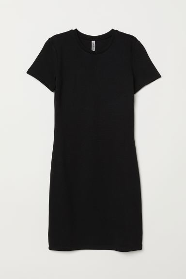 Jersey Dress - Black - Ladies | H&M CA