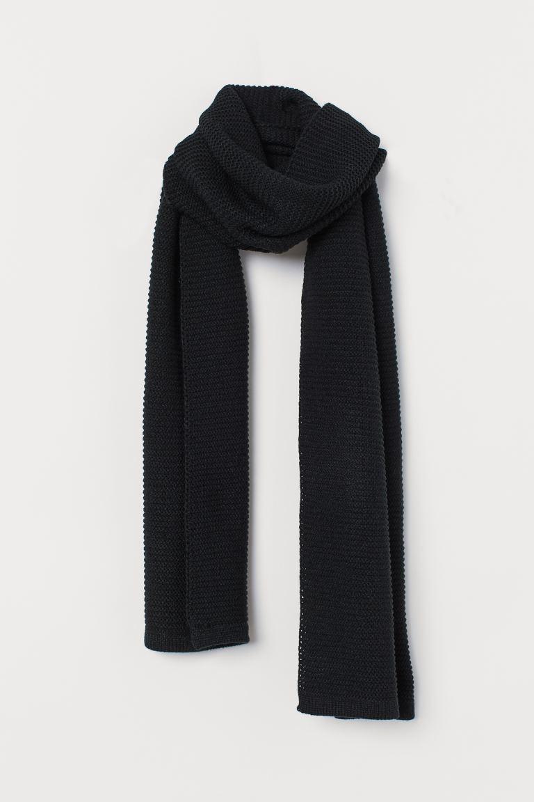 carino sito autorizzato scarpe originali Sciarpa in maglia - Nero - DONNA | H&M IT