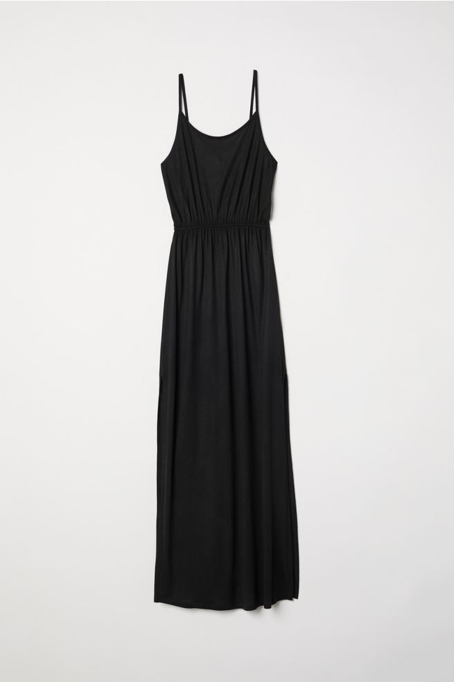 Verbazingwekkend Maxi-jurk - Zwart - DAMES | H&M NL YR-53