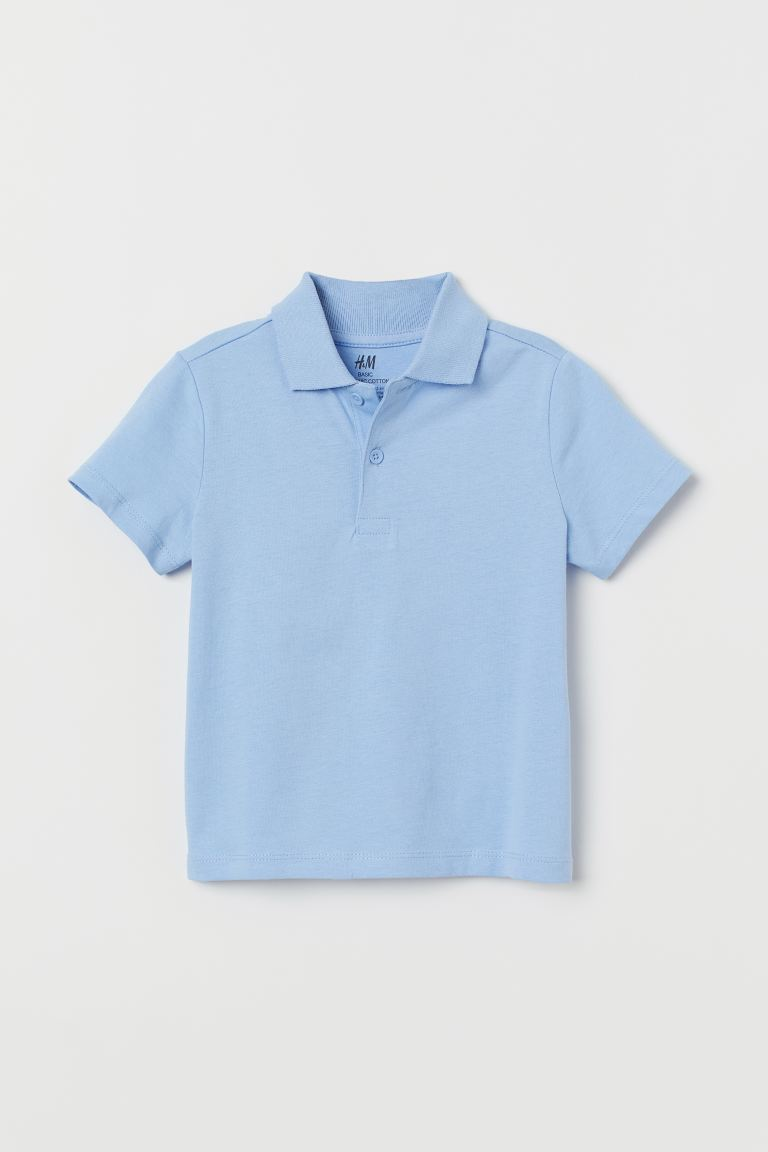 Polo Shirt - Light blue - Kids | H&M US
