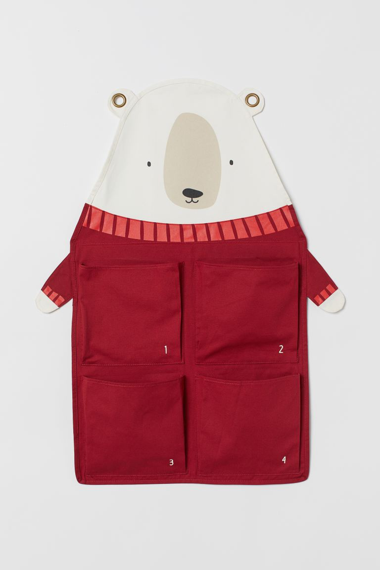 Wall-hung advent calendar - Red/Polar bear -    H&M GB