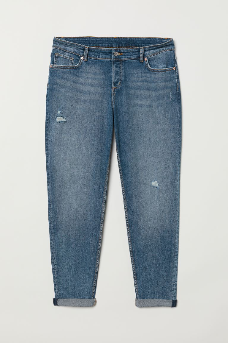 H&M+ Boyfriend Jeans - Denim blue - Ladies | H&M US