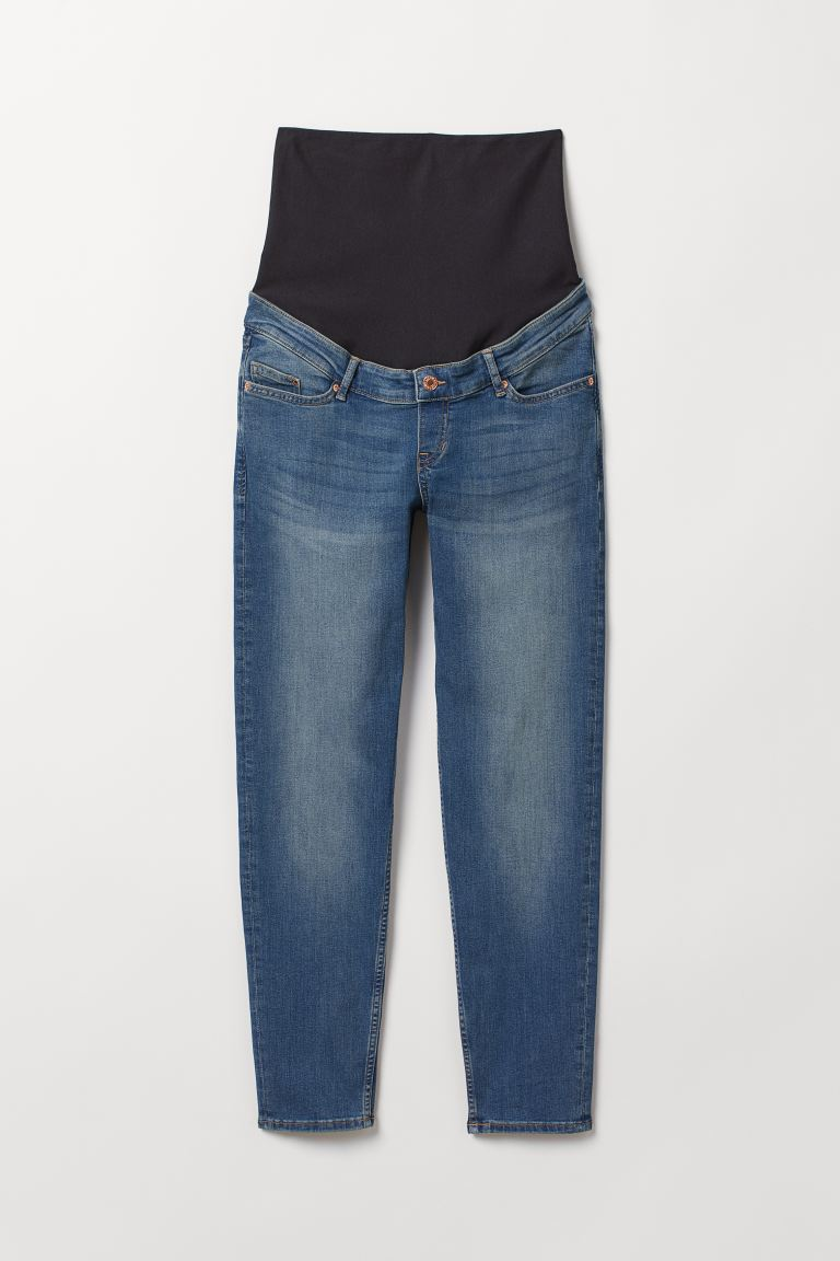 MAMA Boyfriend Jeans - Denim blue - Ladies | H&M US