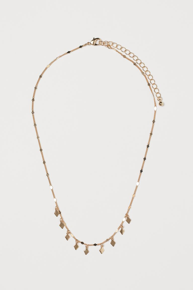 Necklace with Pendants - Gold-colored - Ladies | H&M CA