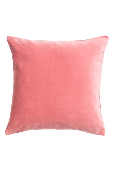 Velvet Cushion Cover - Pink - Home All | H&M US
