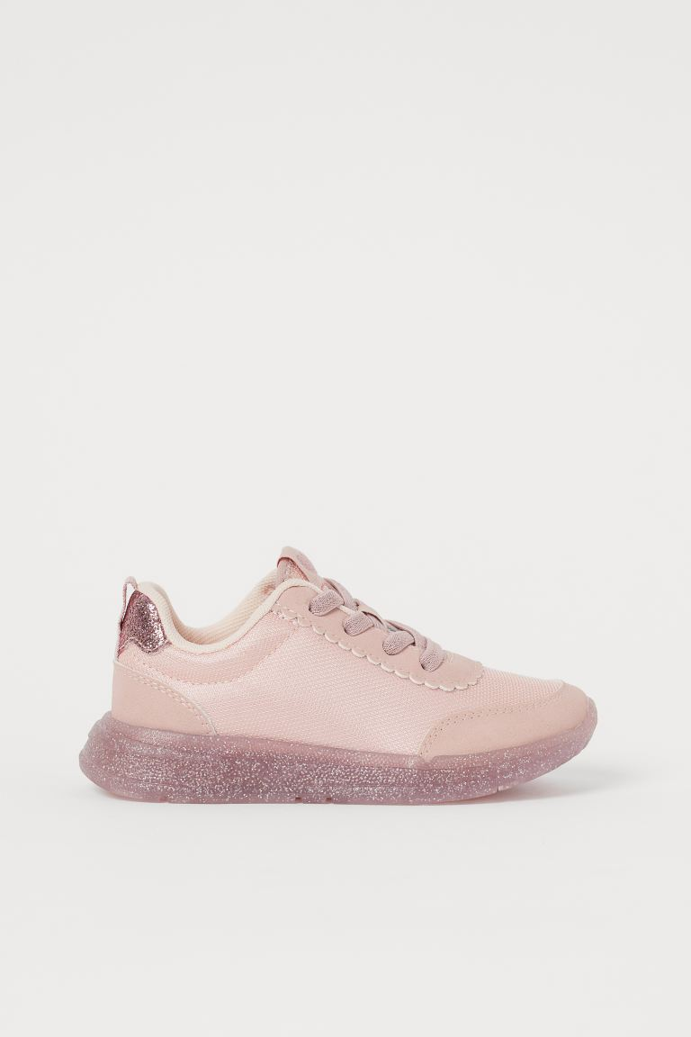 Shimmering trainers - Powder pink -  | H&M