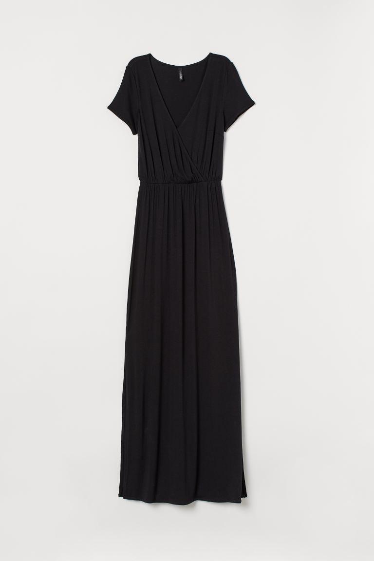 Beste Tricot maxi-jurk - Zwart - DAMES | H&M NL GI-87