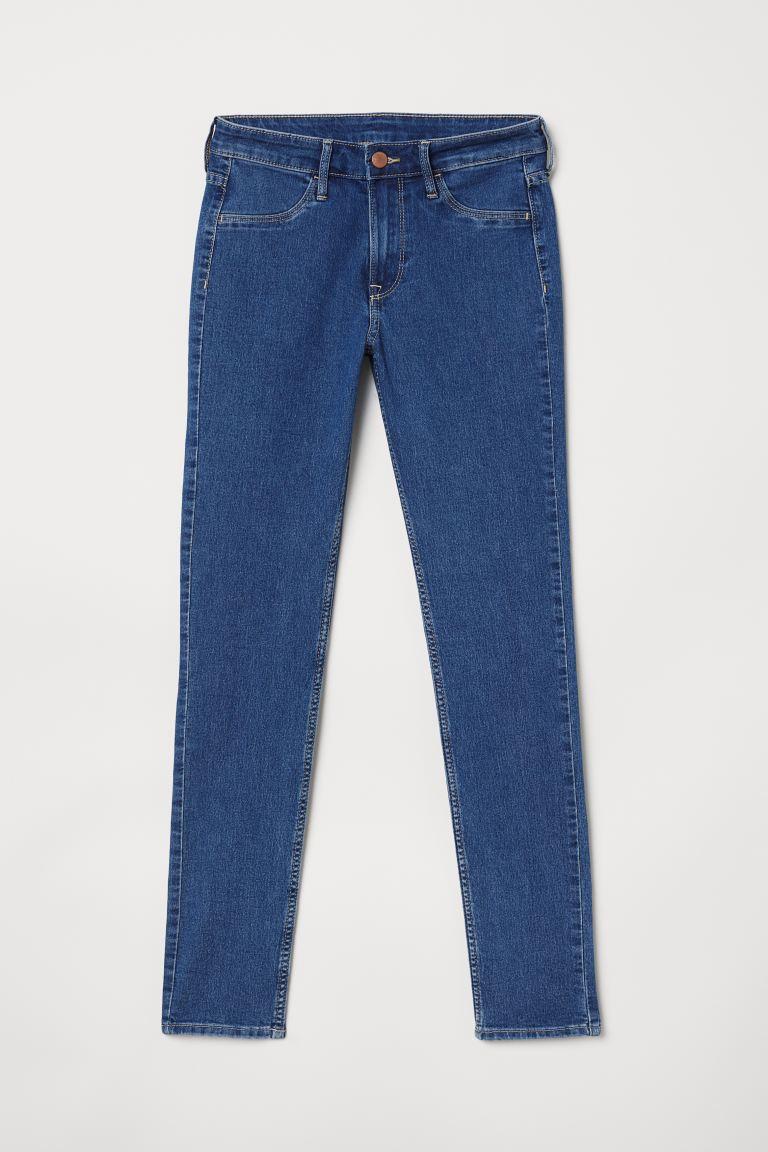 Skinny Regular Ankle Jeans - Denim blue - Ladies | H&M GB