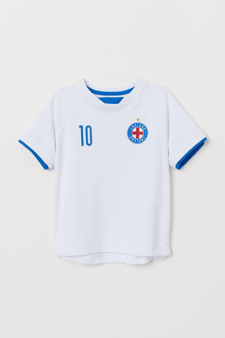 Soccer Shirt - White/England - Kids | H&M US