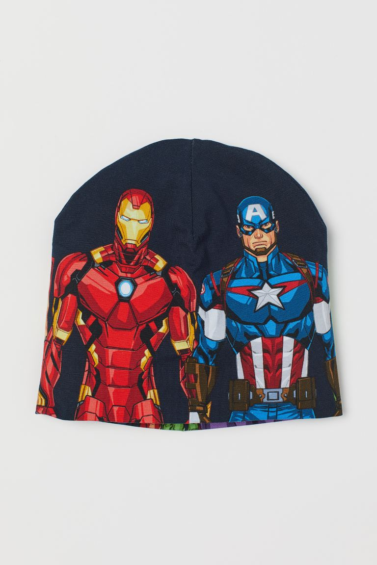 Berretto in jersey - Nero/Avengers -  | H&M IT