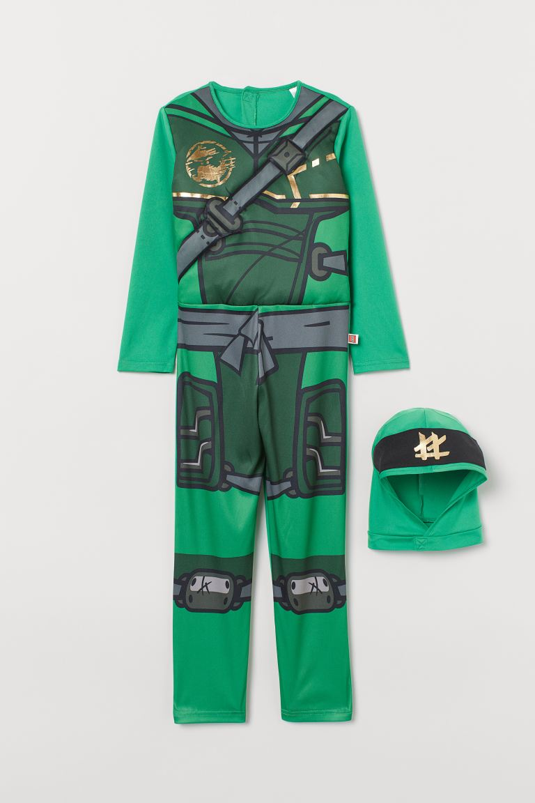 Beste Verkleedpak - superheld - Groen/Ninjago - | H&M NL CA-85