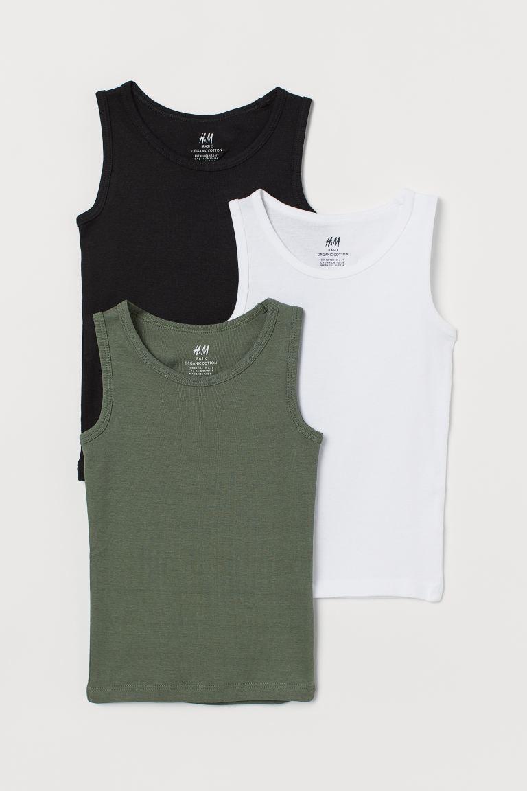 3-pack vest tops