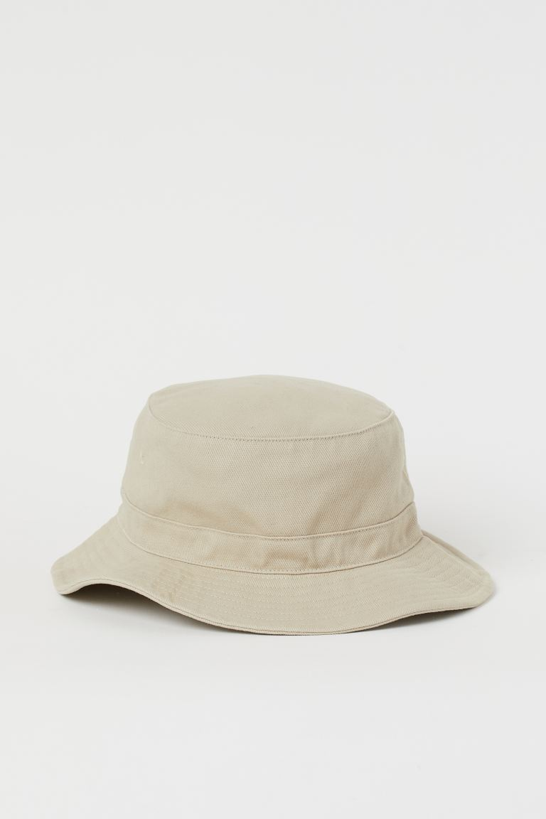 Twill Bucket Hat - Beige - Men | H&M US