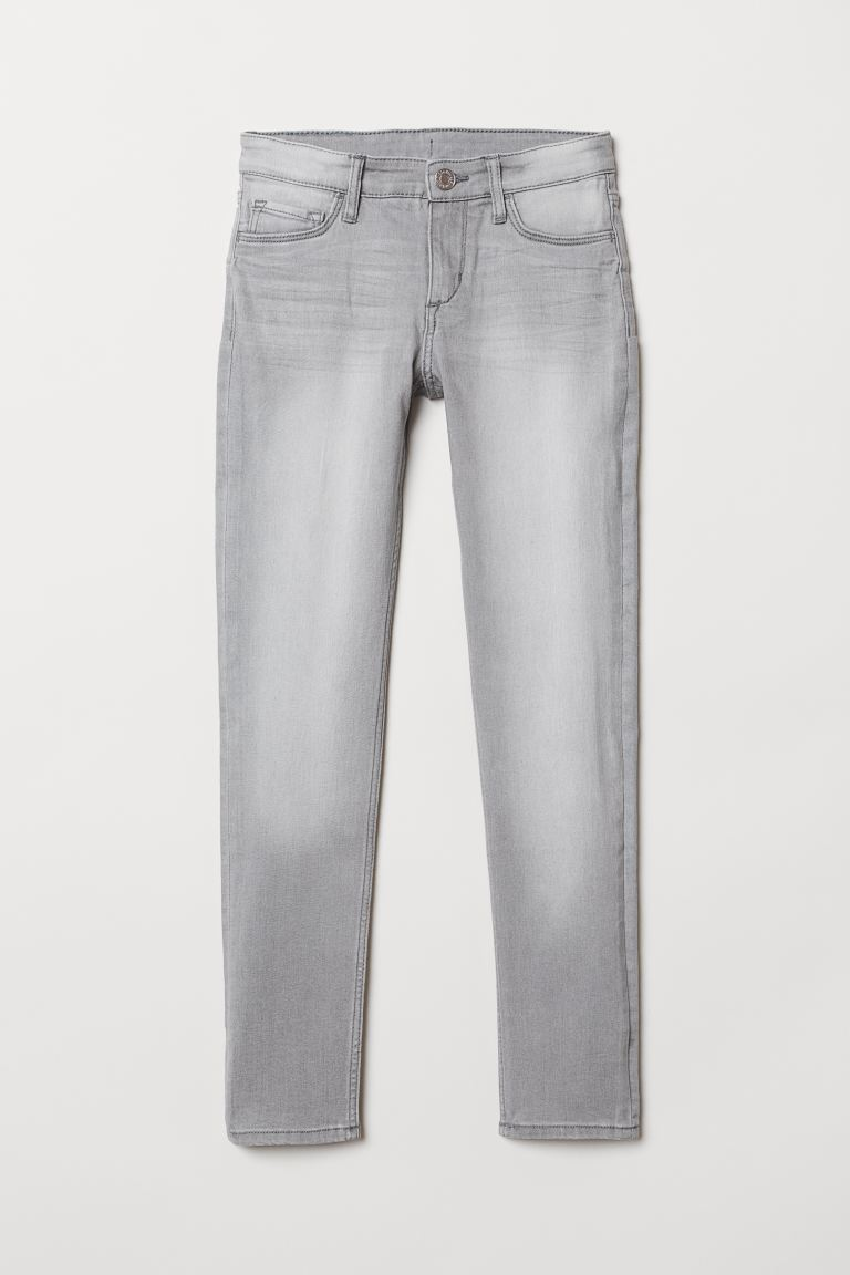 Superstretch Skinny Fit Jeans - Gri - ÇOCUK | H&M TR
