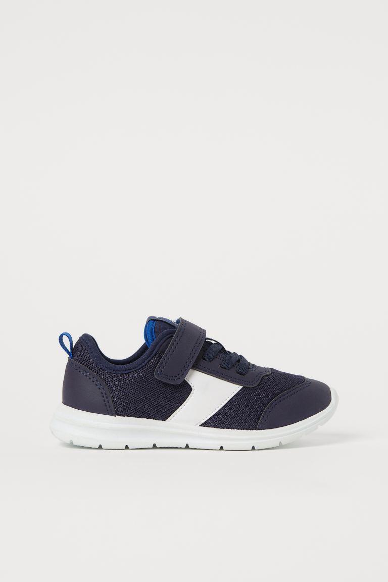 Mesh Sneakers - Dark blue - Kids | H&M US