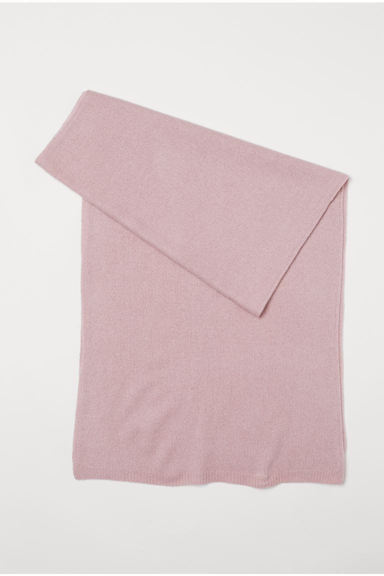 Cashmere scarf - Powder pink - Ladies | H&M