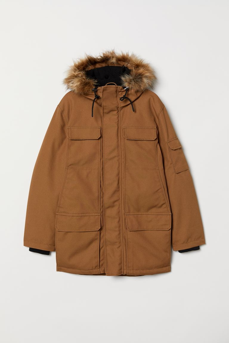 Warm-lined Parka - Ocher - Men | H&M US