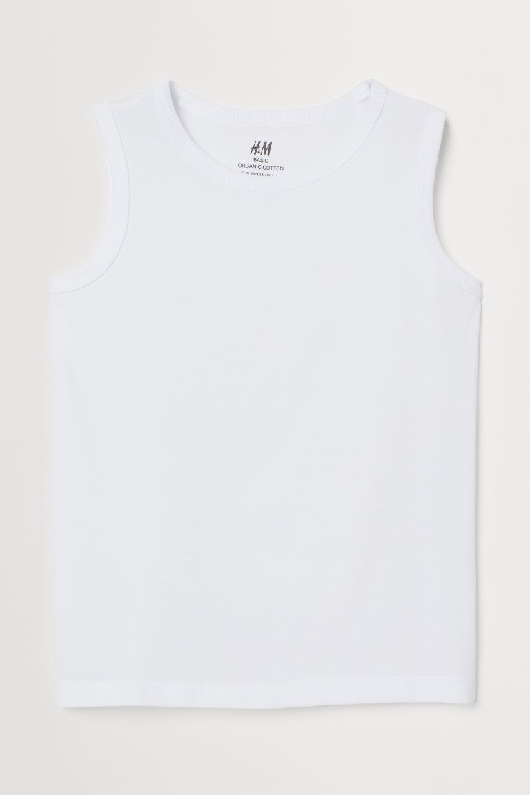 Tank Top - White - Kids | H&M US