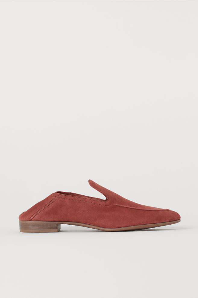 H&M Dark Pink Loafers