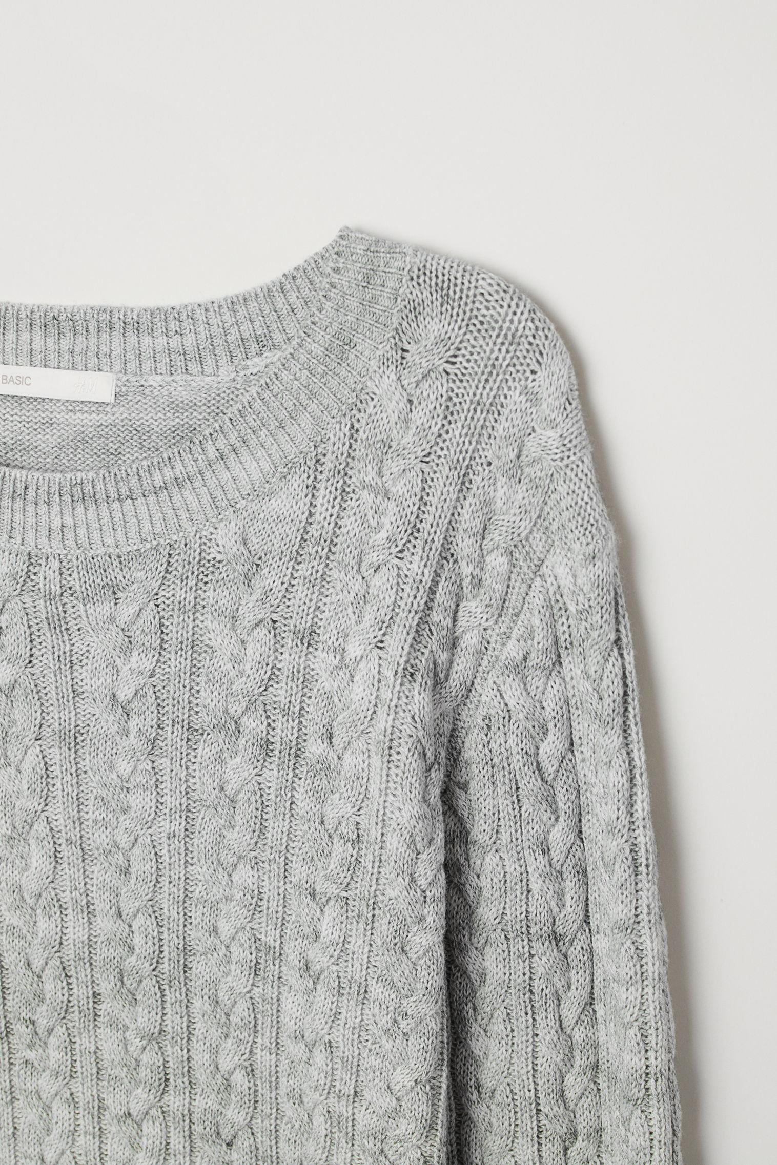 Cable-knit jumper | H&M Kuwait
