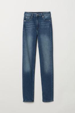 Slim High Jeans Modell
