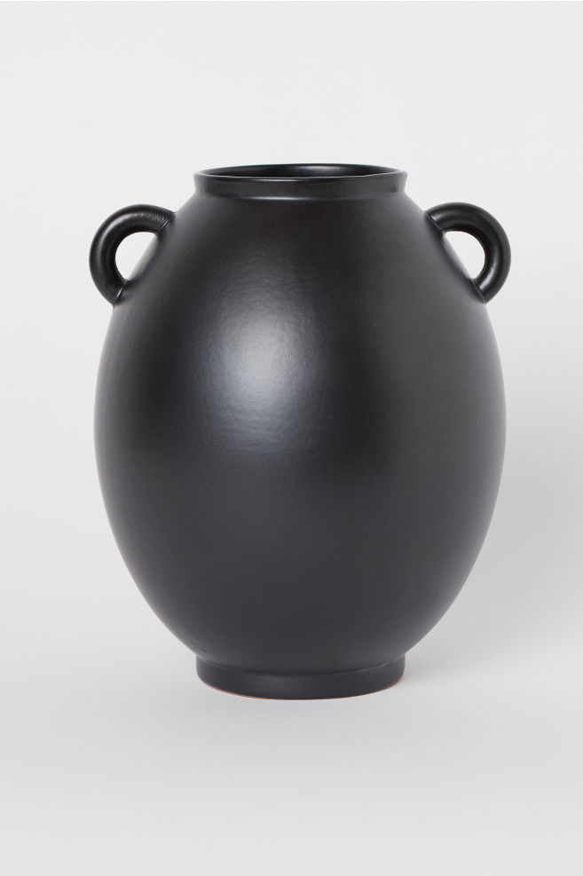 Large vase with handles