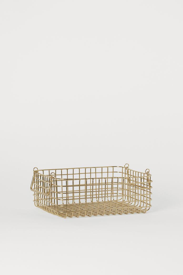 Corbeille à pain en métal - Doré - Home All | H&M FR