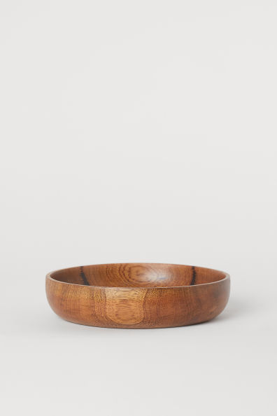 Saladier en bois de manguier - Marron/bois de manguier - Home All | H&M FR 2