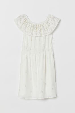 Off-Shoulder Платье Модель