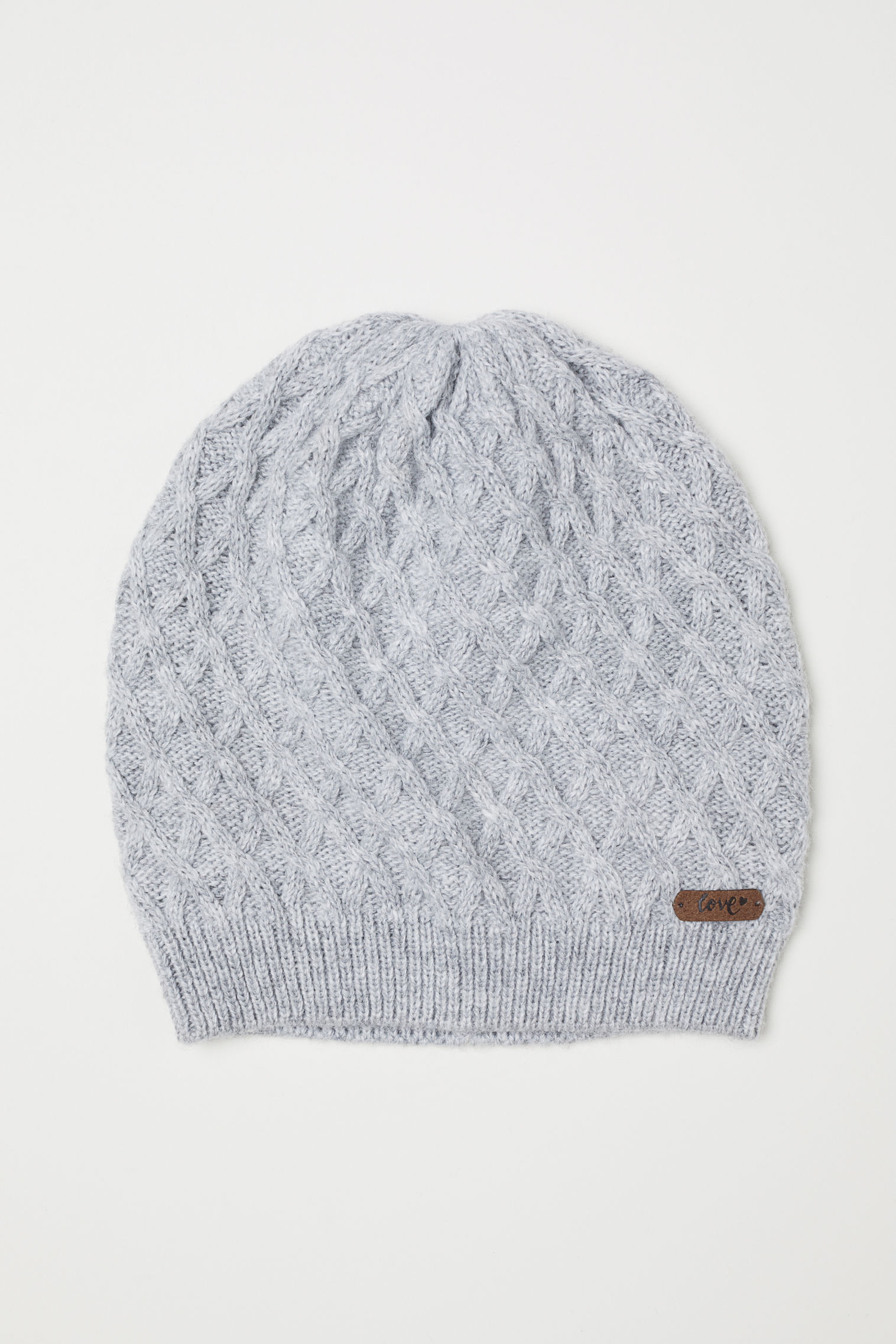 Cable-knit hat ... 42a81ae9579