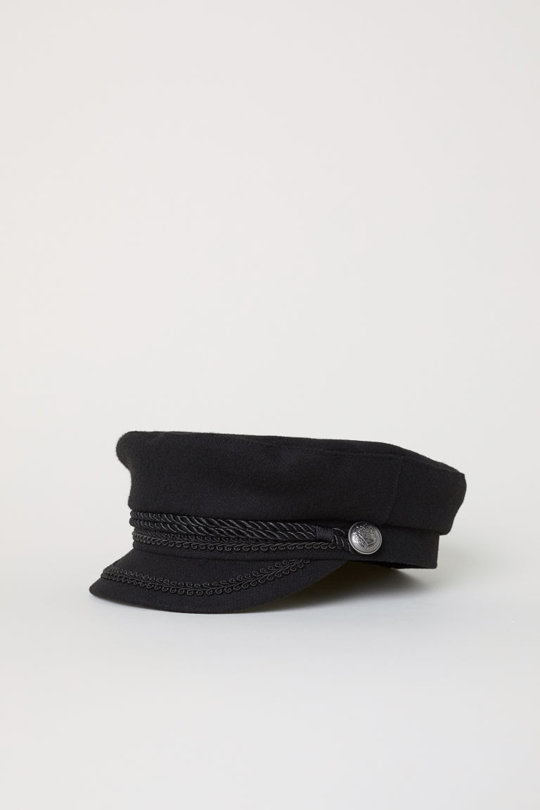 Captain's Cap - Black - Ladies | H&M US 1