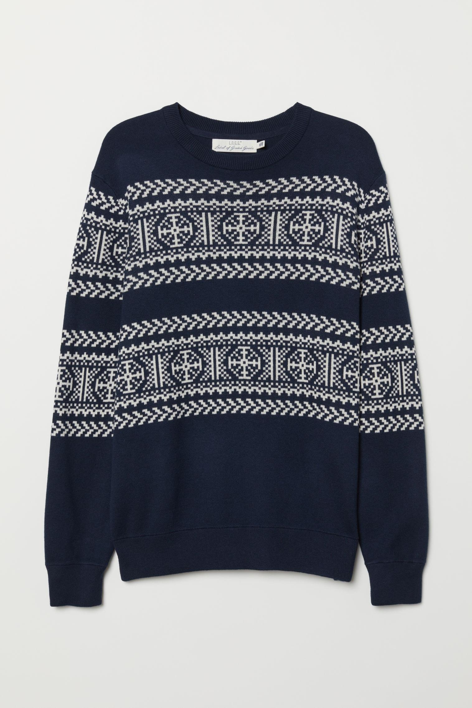 539a8e31a Jacquard-knit jumper